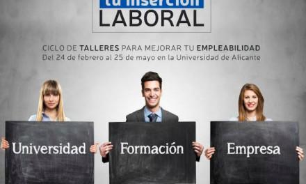 Mejora tu inserción laboral en la UA