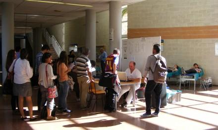 Jornadas Saludables de Donación de Sangre en la UA