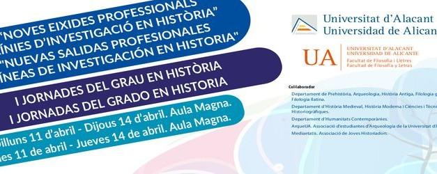 Jornada cultural del grado en Historia