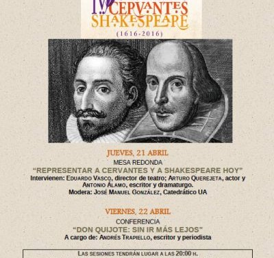 Cervantes y Shakespeare, frente a frente
