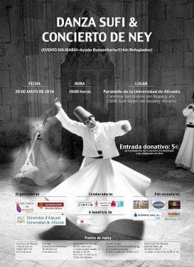 La danza sufí llega a la UA