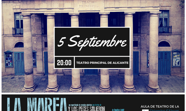 El Aula de Teatro de la UA actuará en Alicante a Escena