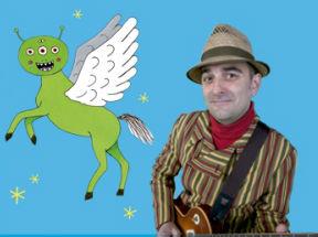 Joan Miquel Oliver presenta en la UA su último disco, Pegasus