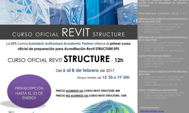 Curso oficial de Autodesk Revit Structure