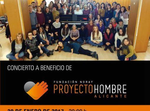 Concierto solidario de la Coral a beneficio de Fundación Noray Proyecto Hombre