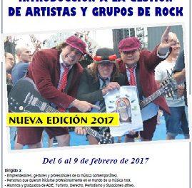 El negocio del rock & roll entra en la Universidad de Alicante en febrero