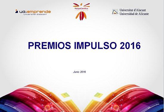 La UA lanza la VI convocatoria de los Premios IMPULSO para iniciativas empresariales innovadoras y sostenibles