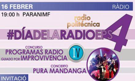 Llega la gala del Día de la Radio EPS con pruebas de improvisación y el concierto de Pura Mandanga
