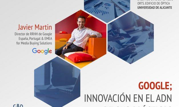 Conferencia de Javier Martin, Director de Recursos Humanos de Google para España, Portugal y EMEA