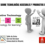 La Universidad de Alicante presenta los últimos avances en tecnologías accesibles y productos de apoyo para personas con discapacidad