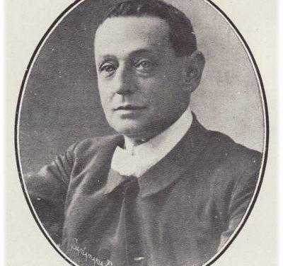 Joaquín Dicenta en la biblioteca de la UA
