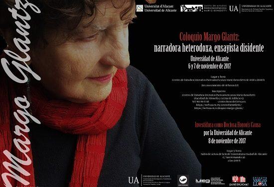 El CeMaB presenta el coloquio «Margo Glantz: narradora heterodoxa, ensayista disidente»