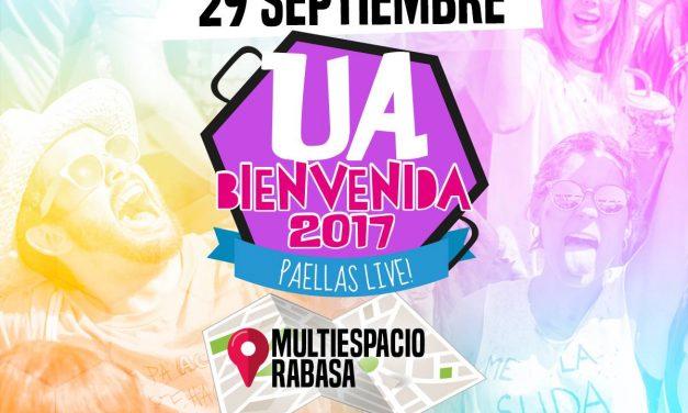 Habrá festival de bienvenida a la UA