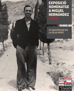Exposición sobre Miguel Hernández en el MUA