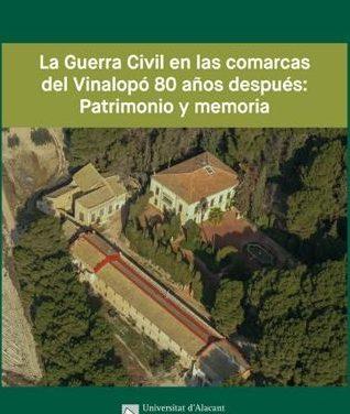 La UA lanza su nueva colección bibliográfica «Territori UA»