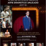 Alejandro Tous presenta el Master en Arte Dramático Aplicado